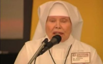 """My Weakness Is My Strength"" Sr. Antonia Brenner"