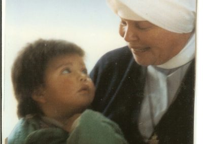 Mother Antonia with Child – circa 1980