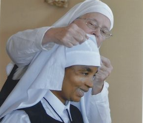 We welcome Sister Ann Gertrude